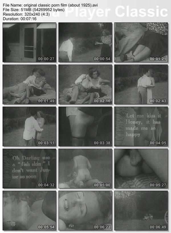 original classic porn film about 1925